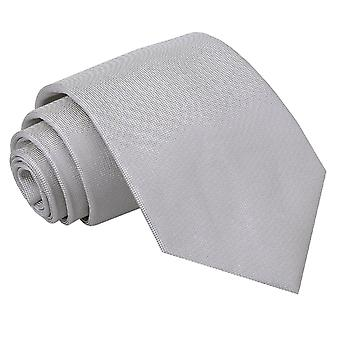 Sølv Panama silke klassisk slipset