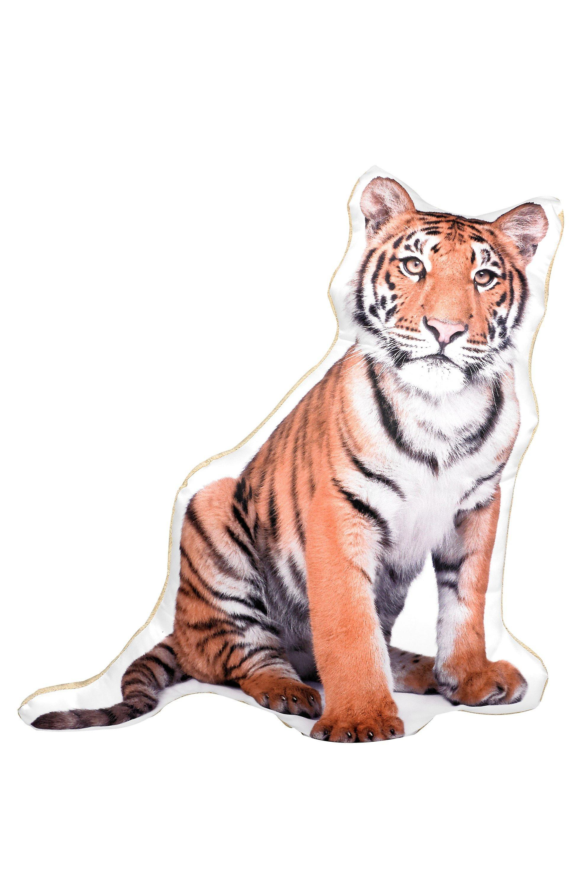 Adorable tiger shaped cushion