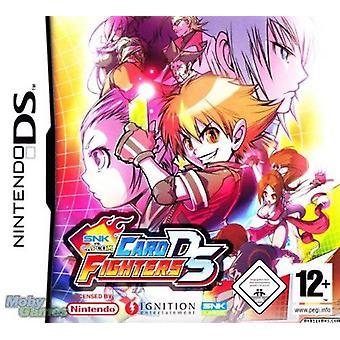 SNK vs Capcom card Fighters Nintendo DS joc