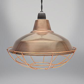 Country Club Sona luminaire, Antique Brown 27cm