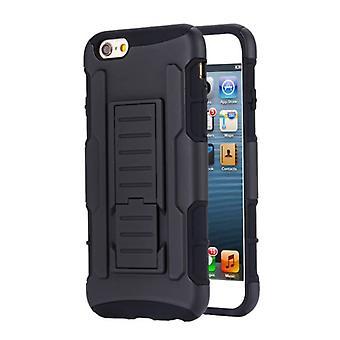 الاشياء المعتمدة® iPhone SE المستقبل درع القضية الصلبة تغطية كاس القضية السوداء