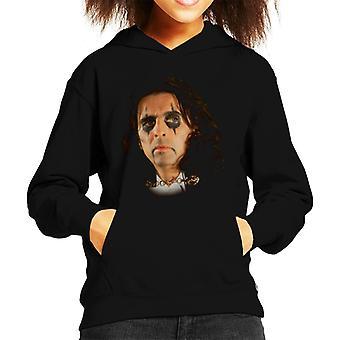 TV Times Alice Cooper Rock Singer Kid's Hooded Sweatshirt