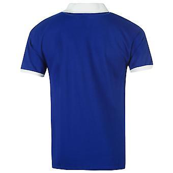 Pisteet tehdä miesten EFC 78H Jersey Football puuvillainen lyhythihainen kaulus V kaulan yläosa