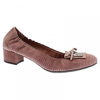 Pedro Miralles Metallic Detail Low Court Shoes