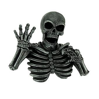 Scary Haunting Skeleton Wall Mounted