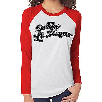 Suicide Squad - Daddy'S Little Monster (Baseball Shirt)