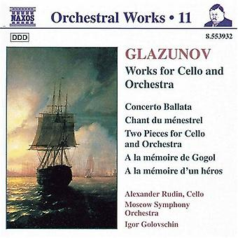 A. Glasunow - Glasunow: Orchesterwerke Vol. 11 [CD] USA import