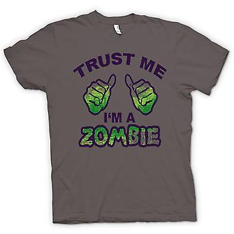 Kids T-shirt - Trust Me Im A Zombie - Funny