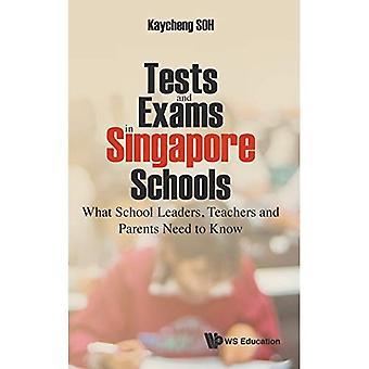 Toetsen en examens in Singapore scholen