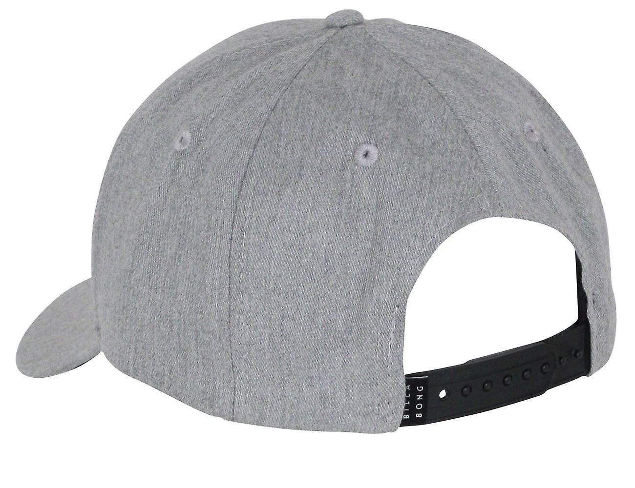 Billabong Men's Snapback Cap ~ All Night grey