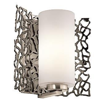 Silver Coral Wall Light - Elstead Lighting Kl / KL/SILCORAL1