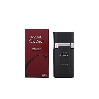 Cartier Santos Edt Spray 100 Ml voor mannen