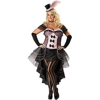 Miss Burlesque Adult  Plus Size Costume