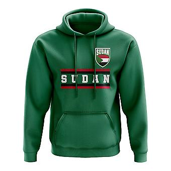 Soudan Core Football pays sweat à capuche (vert)