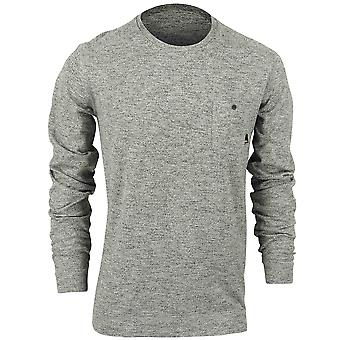 Quiksilver Mens Lindow Crew Sweater - Heather Charcoal