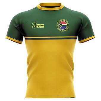 2020-2021 جنوب أفريقيا سبرينغبوس التدريب مفهوم الركبي قميص - أطفال