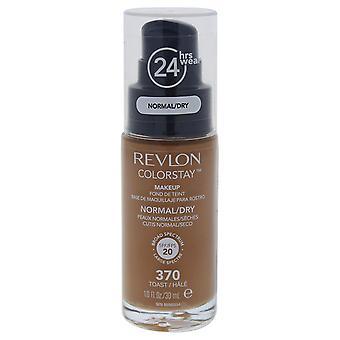Revlon Colorstay Foundation pour les peaux normales/sèches, Toast #370