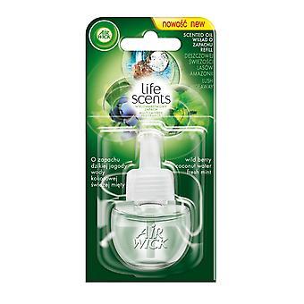 Air Wick życia zapachy Air odświeżacz elektryczne wtyczka w bujnej Hideaway, wkład