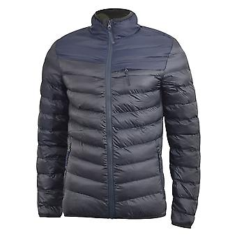 Mens jacket crosshatch bubble quilt chankford
