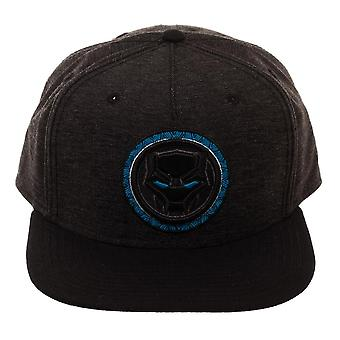 Marvel Black Panther Blue Logo Snapback Cap