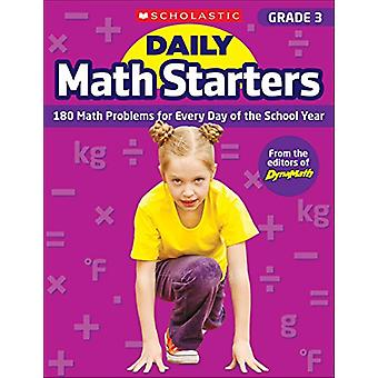 Daily Math Starters - Grade 3 - 180 Math Problems for Every Day of the