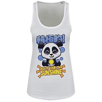 Handa Panda Ladies/Womens Create Your Own Sunshine Floaty Tank