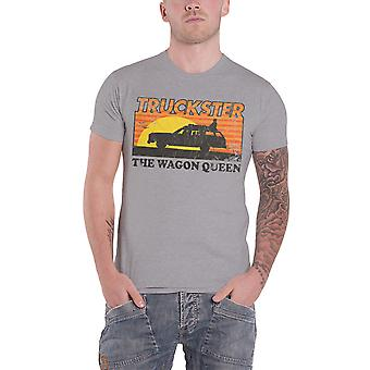 National Lampoons Vacation T Shirt Truckster Wagon Queen Official Heather Grey