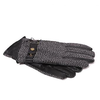 Scotch & Soda Men es Leather And Wool Gloves