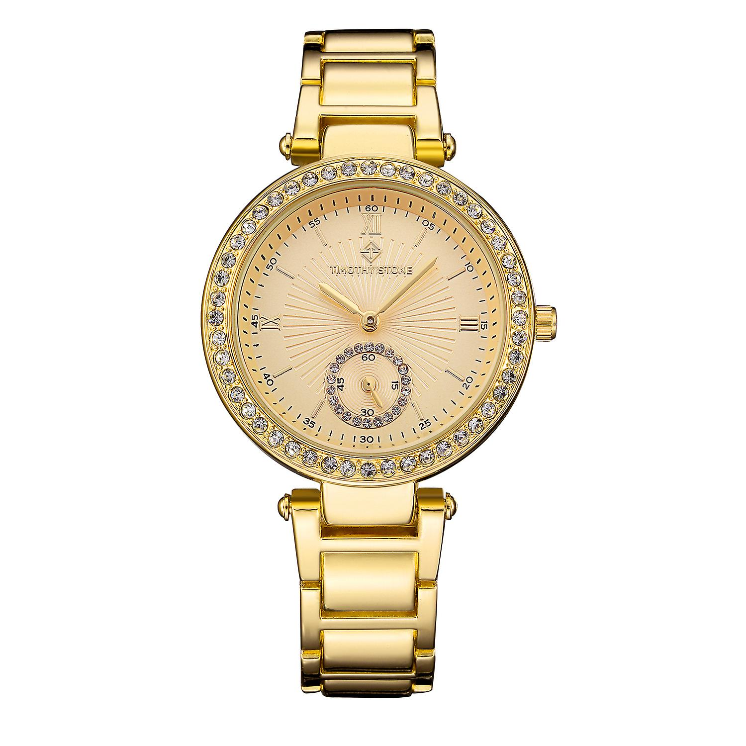 Timothy Stone Women's ELLE-STAINLESS Gold-Tone Watch
