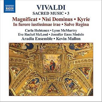 A. Vivaldi - Vivaldi: Kirchenmusik, Vol. 3 [CD] USA import