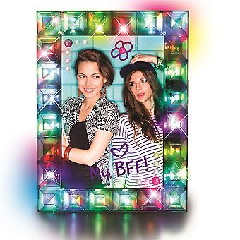 Cra-z-art Shimmer 'n Sparkle Fashion Lights Light-up Picture Frame