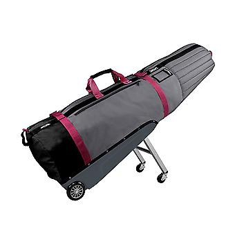 Golf Travel Covers | Sun Mountain ClubGlider Meridian Golf Travel Cover Storm/Pink