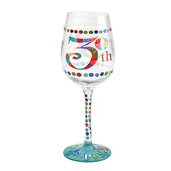 Here's To You 30th Birthday Wine Glass