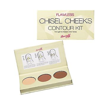 Barry M Chisel Cheeks Contour Kit - Light/Medium