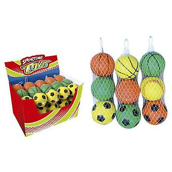 Sport One 3 Soft Balls 75Mm. (Babies and Children , Toys , Others)