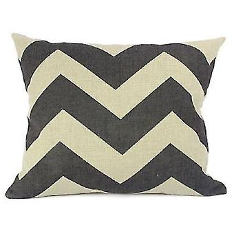 Wellindal Cotton Cushion Cover Ziga (Decoration , Cushions)
