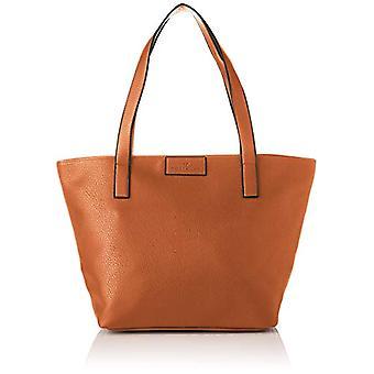 Tom Tailor 24400 Brown Women's Bag (Cognac 22)) 17.5x28x36 cm (B x H x T)