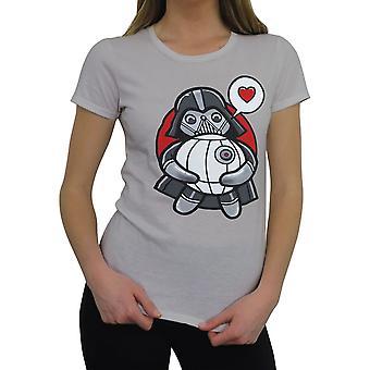 Star Wars Kawaii Vader Hug Women's Camiseta