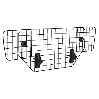 PawHut Heavy Duty Pet Dog Guard Wire Mesh Car Barrier Adjustable  Auto SUVs Vehicle Fence Safety Grill Black