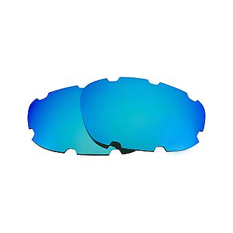 Polarized Replacement Lenses for Oakley Split Jacket Vented Sunglasses Blue Anti-Scratch Anti-Glare UV400 by SeekOptics