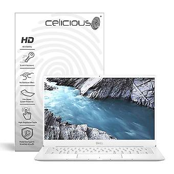 Celicious Vivid Invisible Glossy HD Screen Protector Film Compatible with Dell XPS 13 9380 (Touch) [Pack of 2]