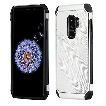 ASMYNA Silver Dots(Silver Plating)/Black Astronoot Protector Cover  for Galaxy S9 Plus