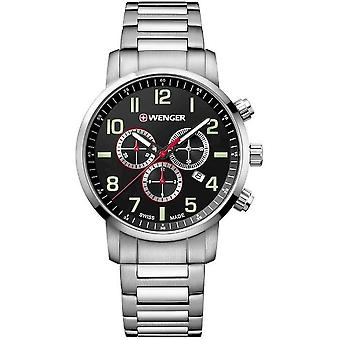 Wenger mens watch attitude Chrono 01.1543.102