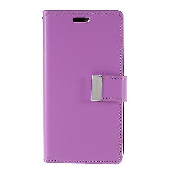 Mercury GOOSPERY Rich Diary for iPhone 11 Pro Max-Purple