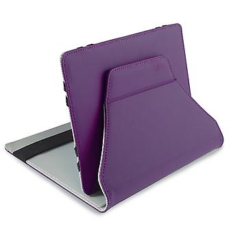 Leo 7-quot; Universal Purple Outer/Grey Inter Tablet Cover