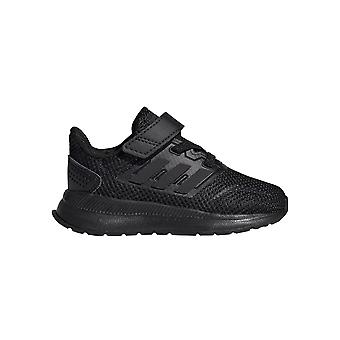 adidas Run Falcon Infant Kids Sports Trainer Shoe Black