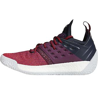 adidas Performance Mens Harden Vol 2 Basketball Trainers Shoes - Purple