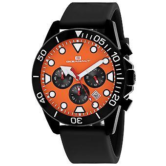 Oceanaut Men-apos;s Naval Orange Dial Watch - OC1312