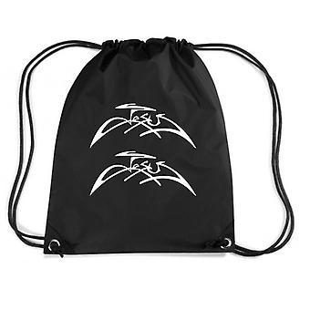 Black backpack fun2204 jesus signature
