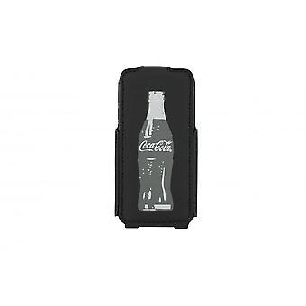 Flip Case Coca-Cola Grey Bottle For Apple IPhone 5